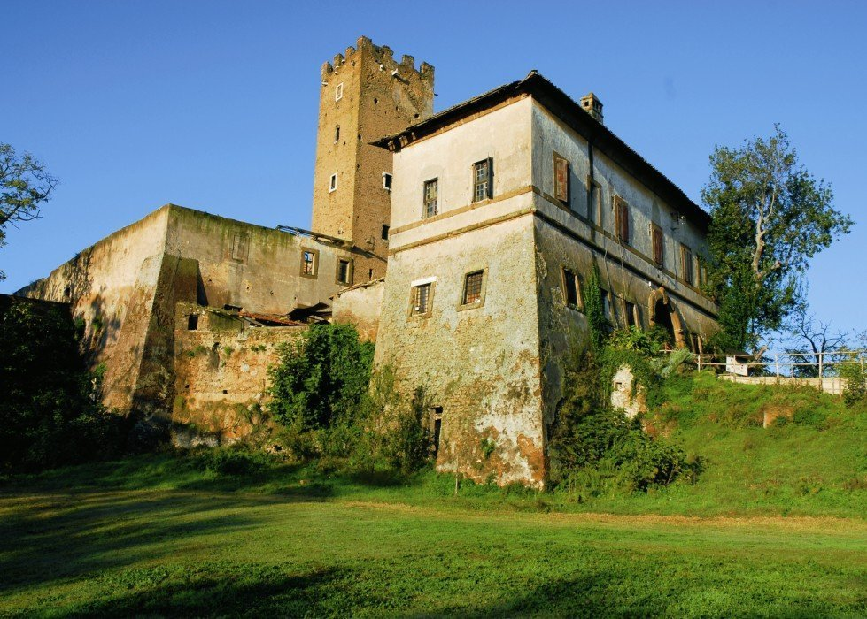 Charming castle in Assisi