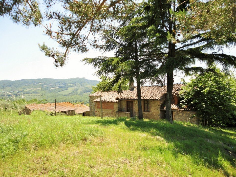 Sale farmhouse with outbuildings and land